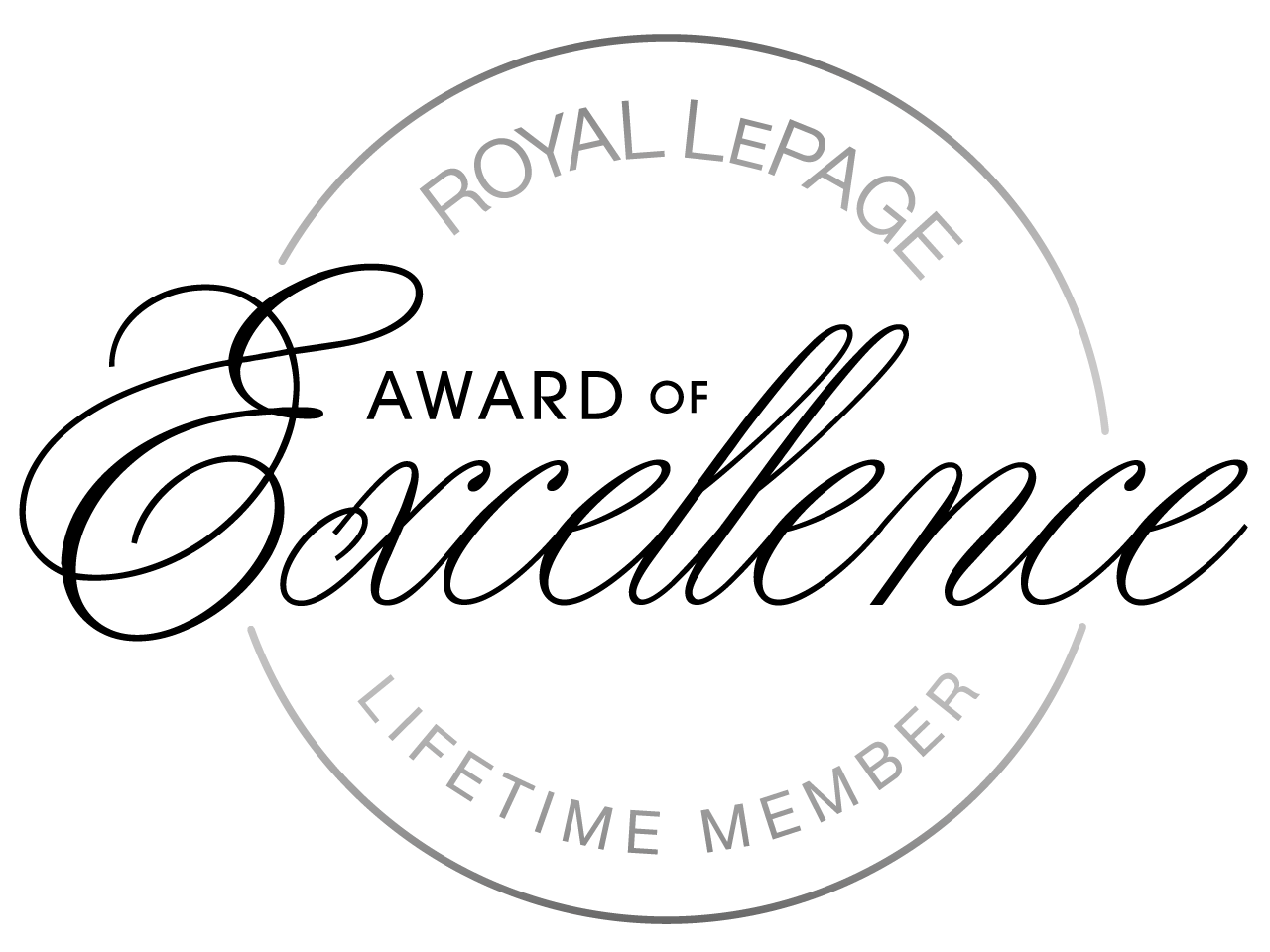 Award of Excellence - Lifetime