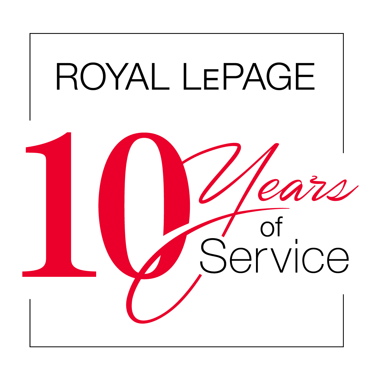 Years of Service - 10 Years