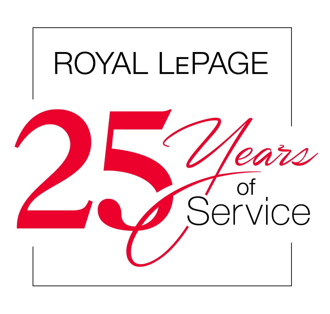 Years of Service - 25 Years