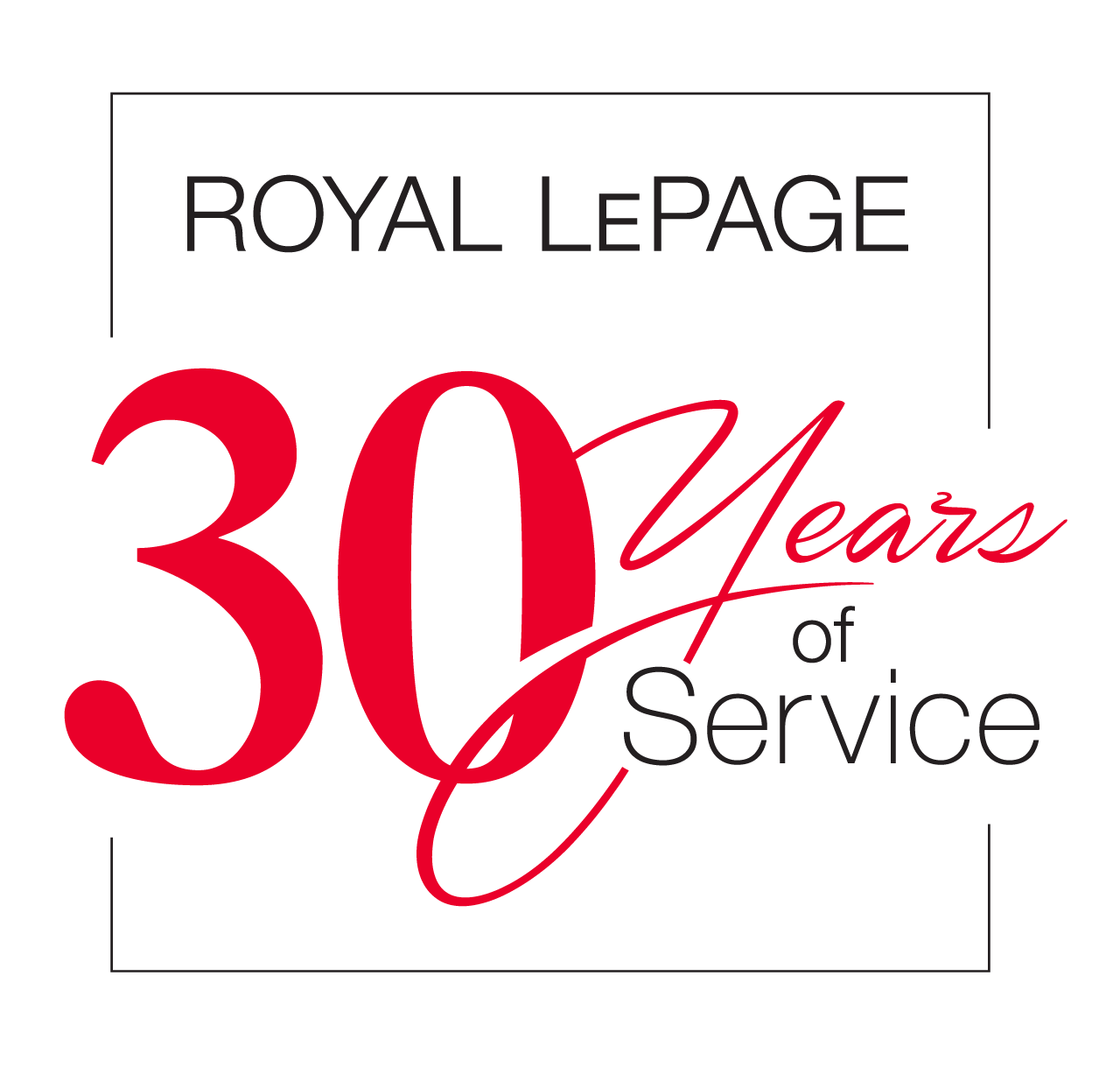 Years of Service - 30 Years