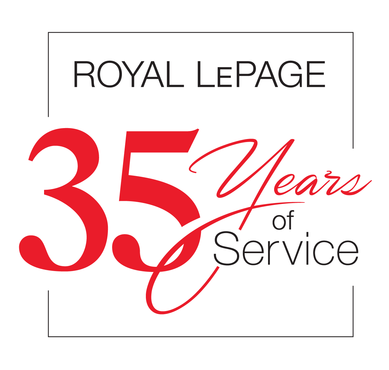 Years of Service - 35 Years