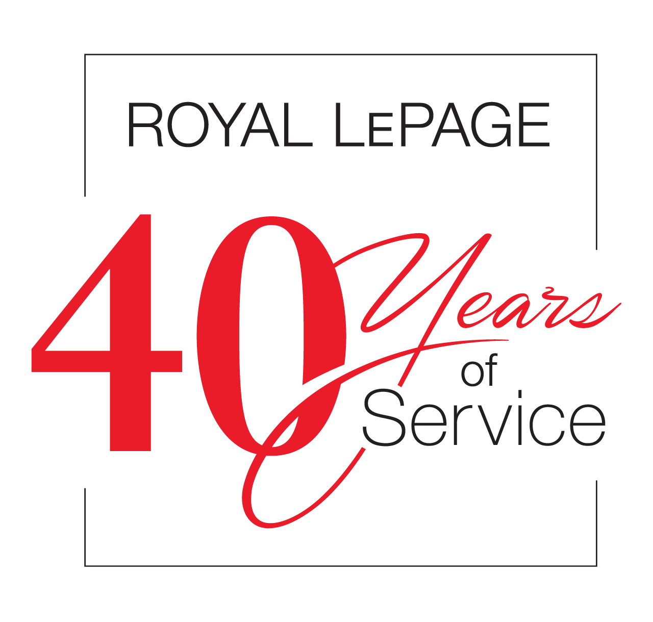 Years of Service - 40 Years