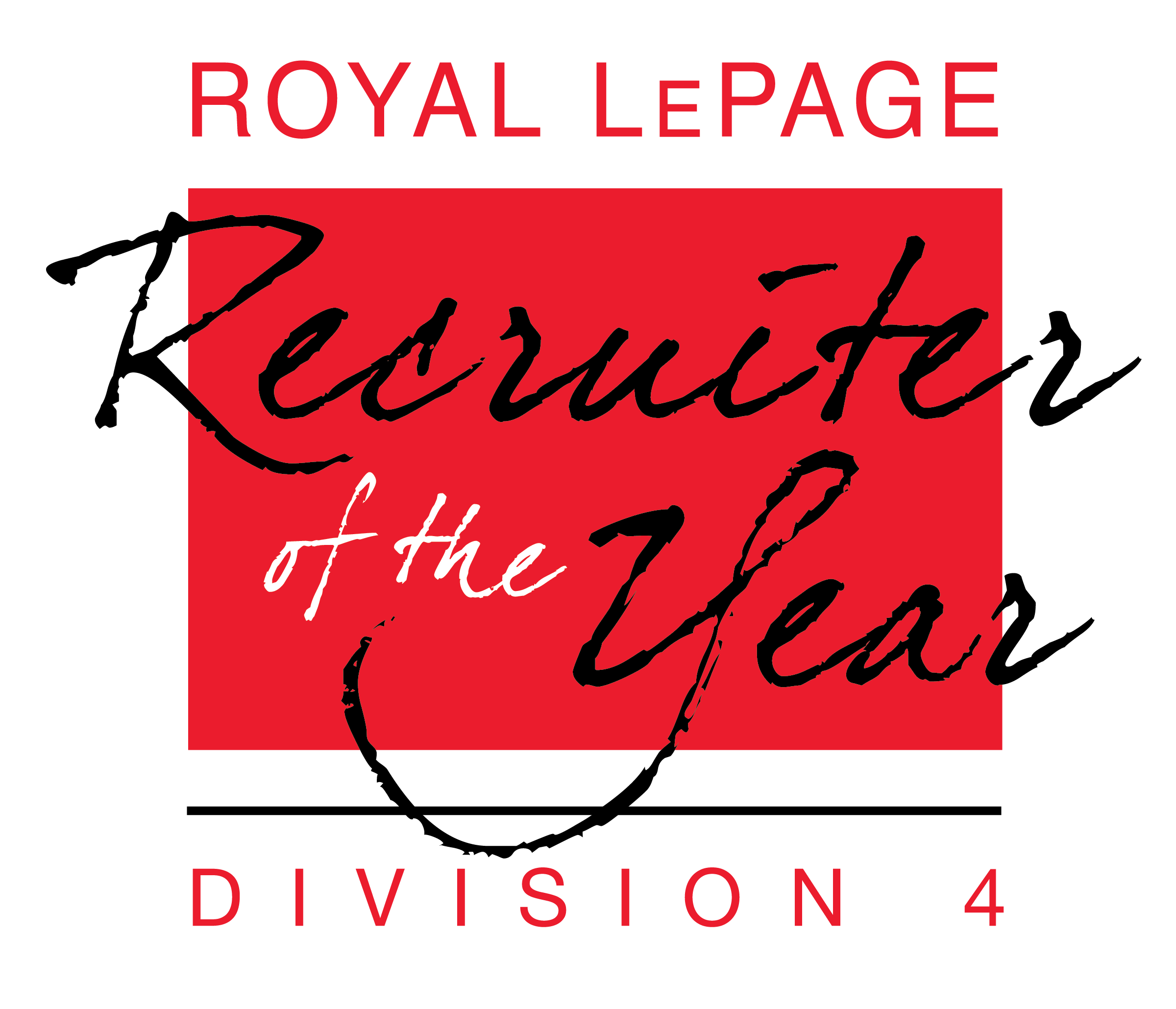 Recruiter of the Year - Division 4 - National